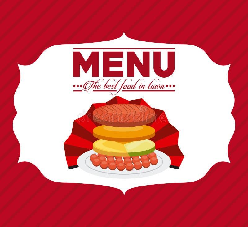 Download Σχέδιο επιλογών και τροφίμων Διανυσματική απεικόνιση - εικονογραφία από αρχιμάγειρας, δημιουργικός: 62702481