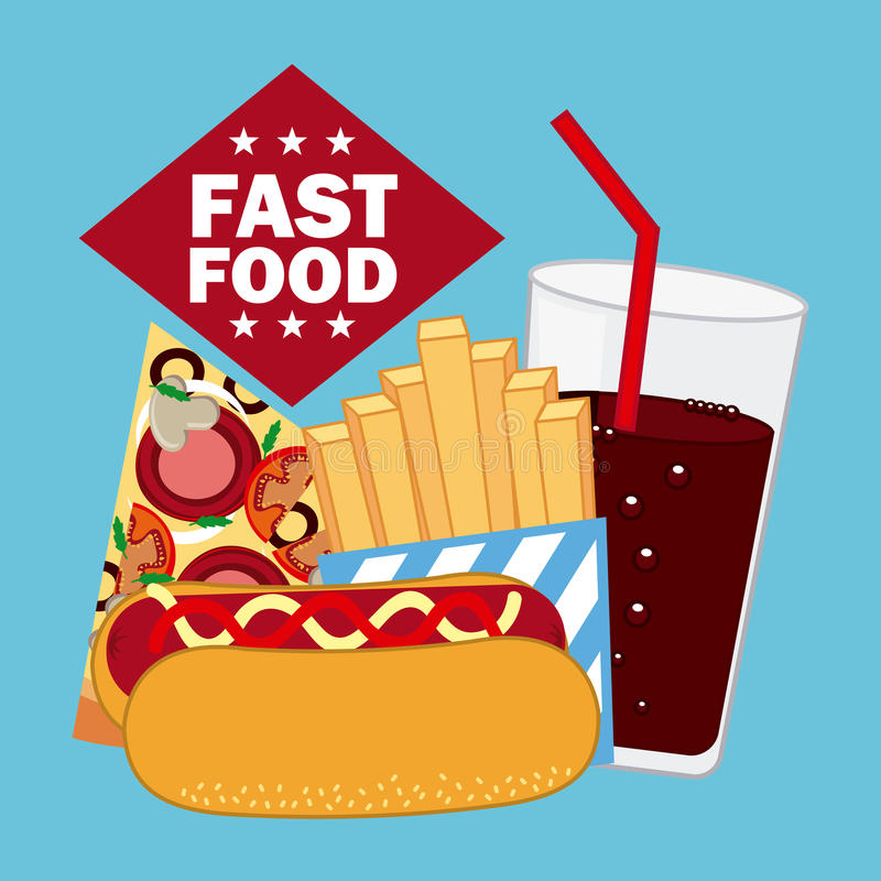 Download Σχέδιο επιλογών και τροφίμων Διανυσματική απεικόνιση - εικονογραφία από επιχείρηση, πίτσα: 62703845
