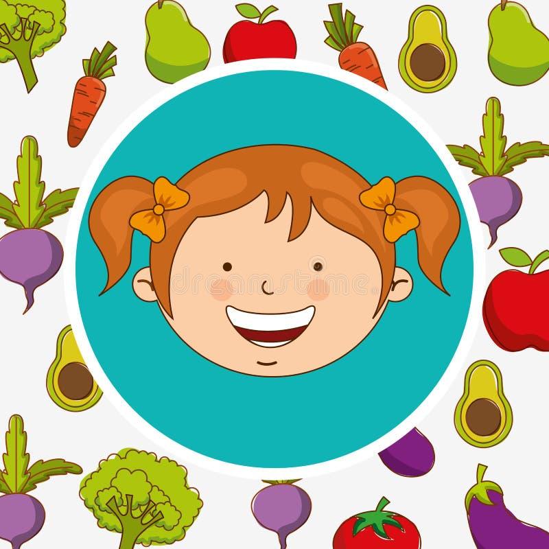 Σχέδιο επιλογών παιδιών απεικόνιση αποθεμάτων