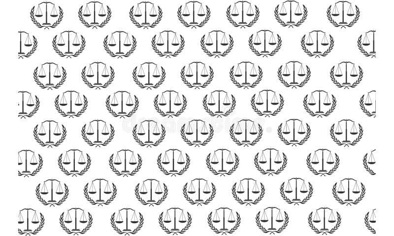 Σχέδιο δικαιοσύνης ελεύθερη απεικόνιση δικαιώματος