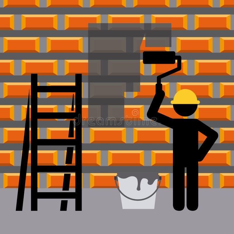 Download σχέδιο κατασκευής κάτω διανυσματική απεικόνιση. εικονογραφία από μορφή - 62702705