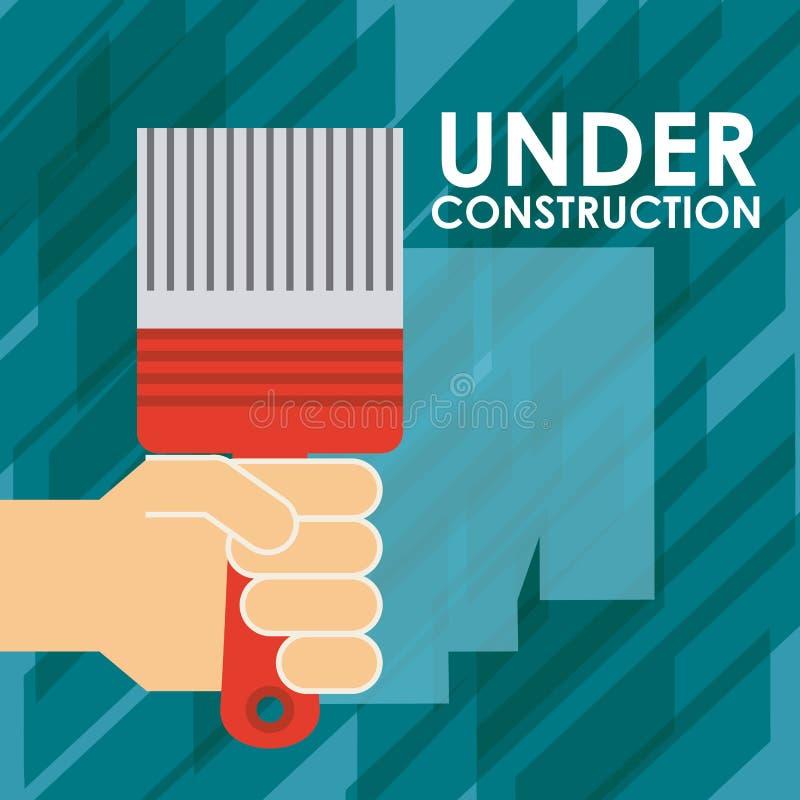 Download σχέδιο κατασκευής κάτω διανυσματική απεικόνιση. εικονογραφία από αρχιτεκτονικής - 62702802