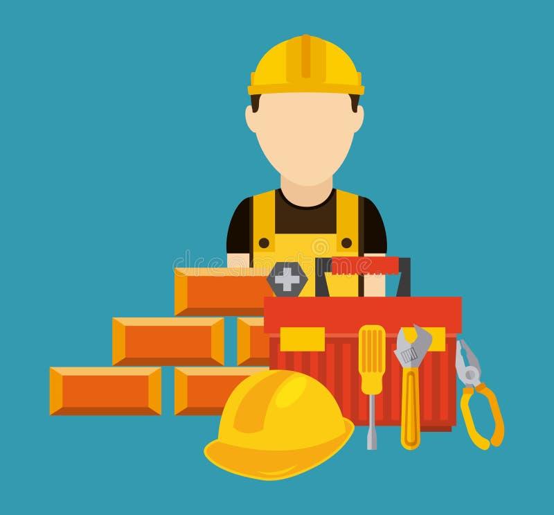 Download σχέδιο κατασκευής κάτω διανυσματική απεικόνιση. εικονογραφία από πρόγραμμα - 62702902