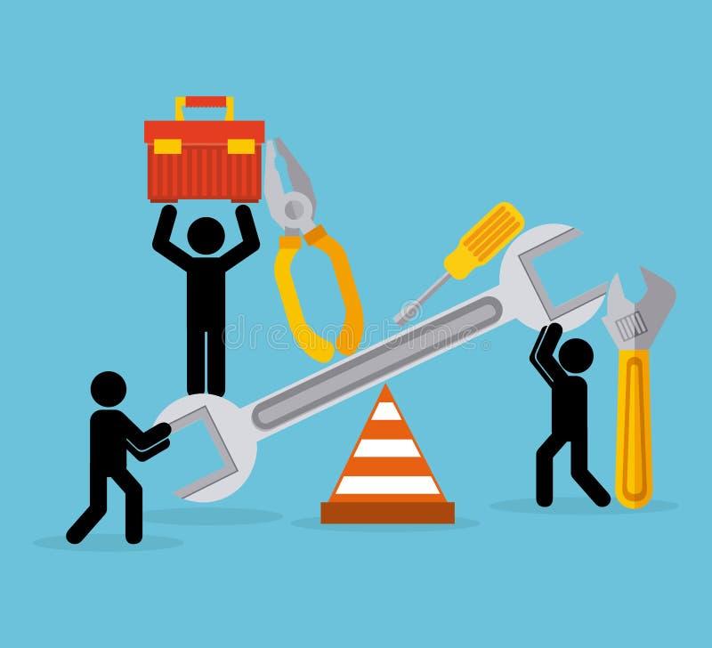 Download σχέδιο κατασκευής κάτω διανυσματική απεικόνιση. εικονογραφία από βιομηχανικός - 62702988
