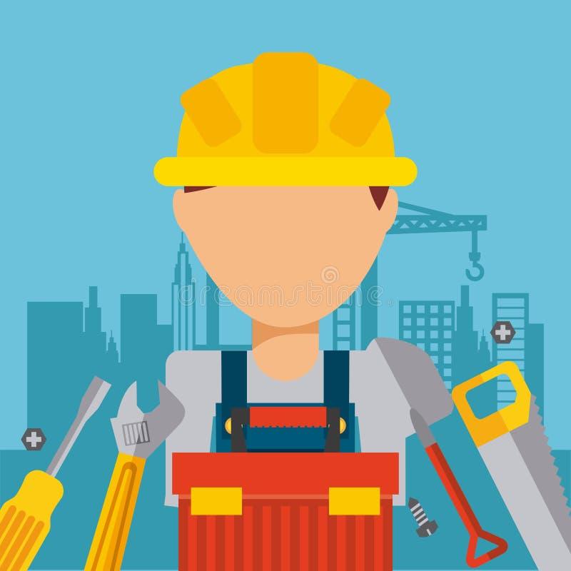 Download σχέδιο κατασκευής κάτω διανυσματική απεικόνιση. εικονογραφία από πρόγραμμα - 62702989