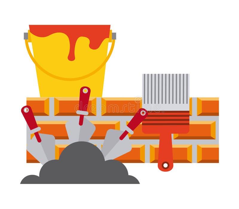 Download σχέδιο κατασκευής κάτω διανυσματική απεικόνιση. εικονογραφία από κίνδυνος - 62703718