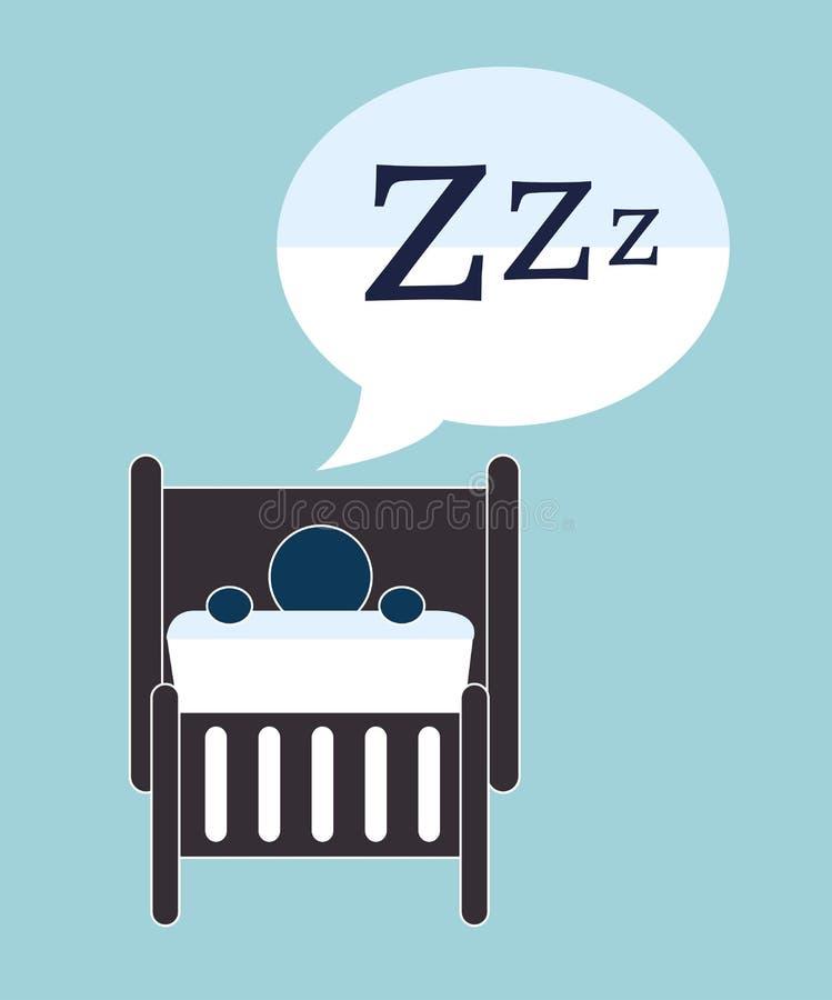 Σχέδιο καληνύχτας ελεύθερη απεικόνιση δικαιώματος