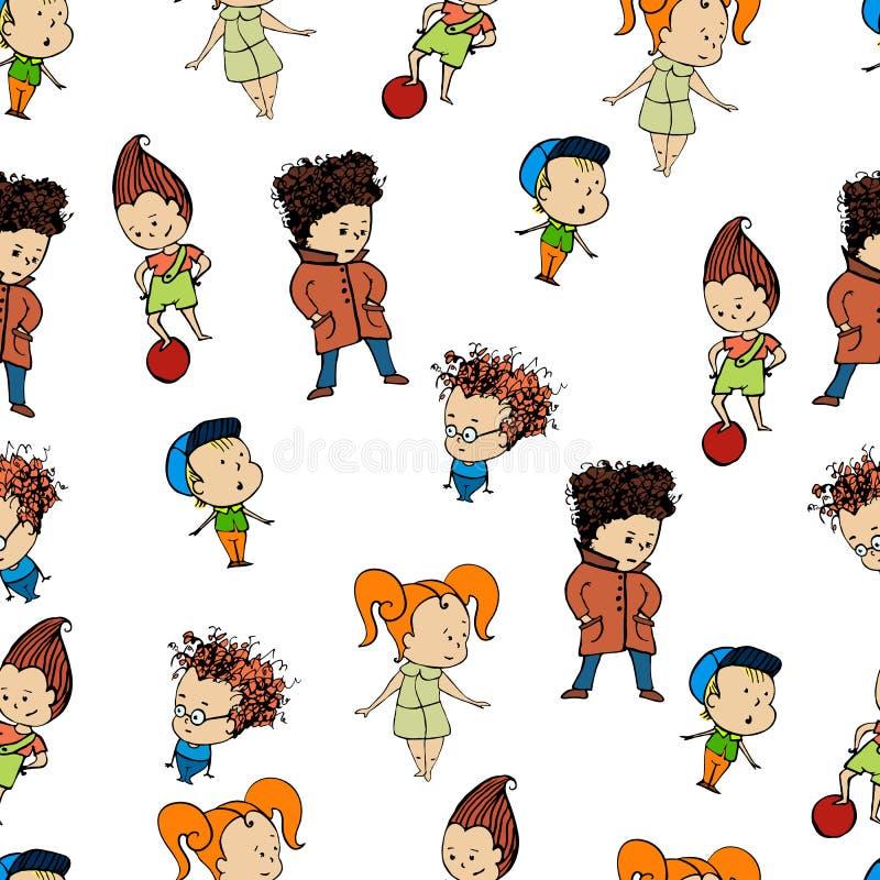 Σχέδιο μια ομάδα childrenr, μωρό, σχέδιο, παιδί, ελεύθερη απεικόνιση δικαιώματος