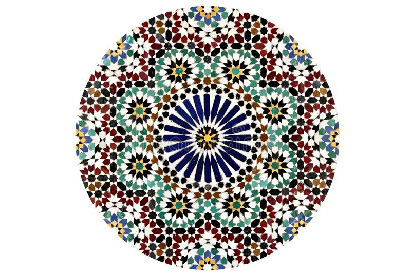 Σχέδιο μωσαϊκών Arabesque στοκ φωτογραφίες με δικαίωμα ελεύθερης χρήσης