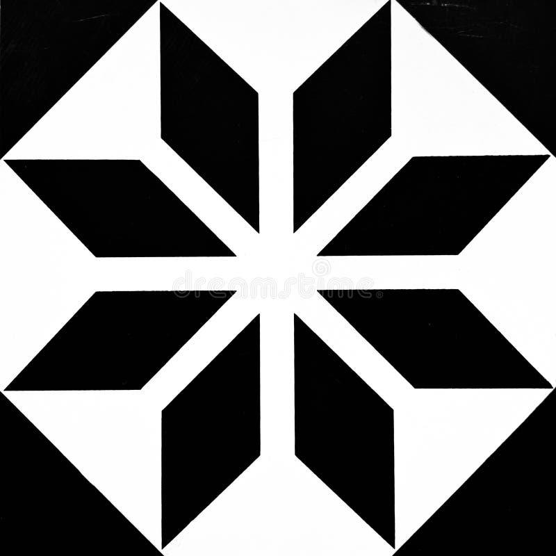 Σχέδιο μωσαϊκών Floortile στοκ εικόνα με δικαίωμα ελεύθερης χρήσης