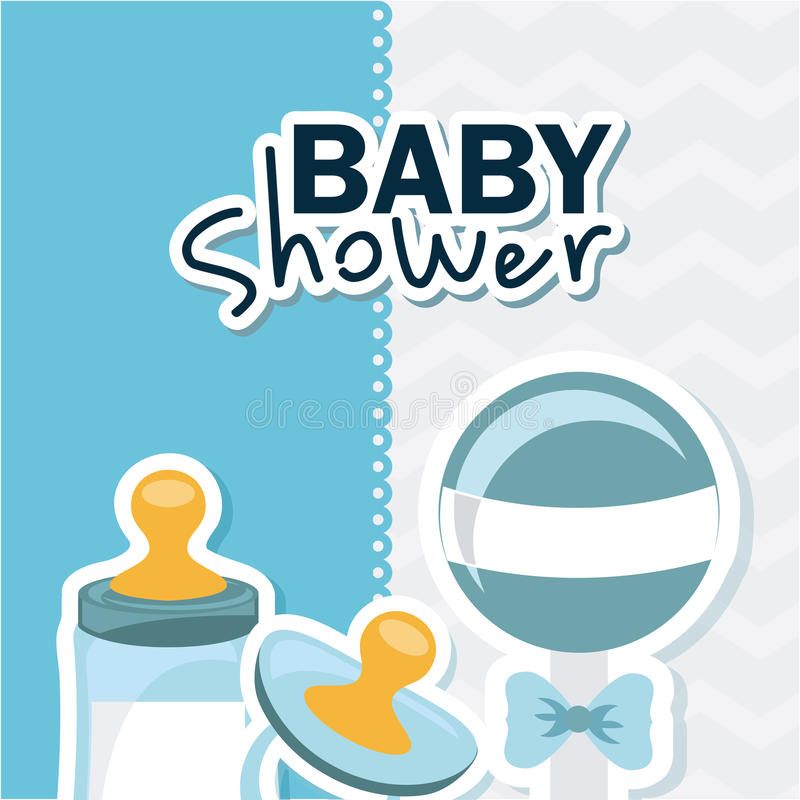 Download Σχέδιο ντους μωρών διανυσματική απεικόνιση. εικονογραφία από cartoon - 62704044