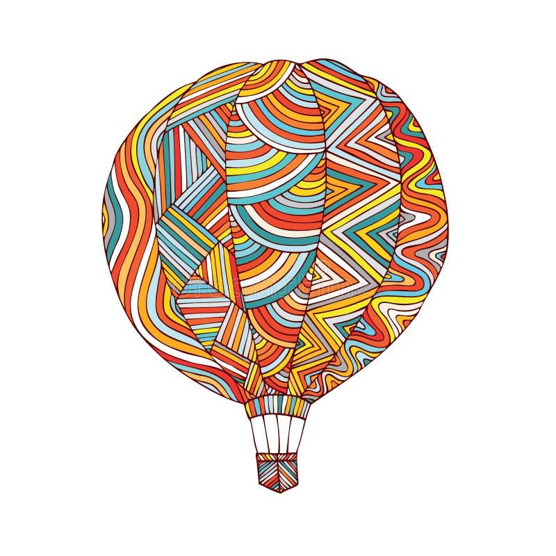 Σχέδιο λογότυπων μπαλονιών ελεύθερη απεικόνιση δικαιώματος