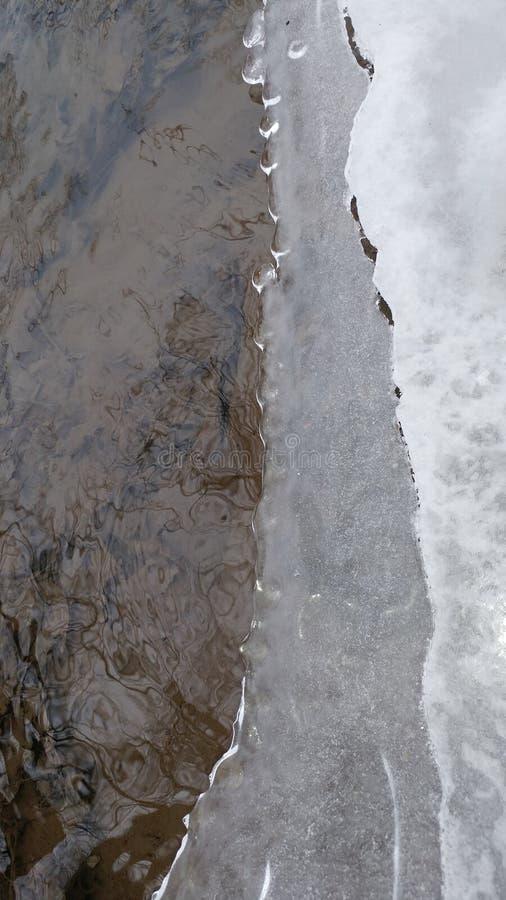 Σχέδιο πάγου στοκ φωτογραφίες