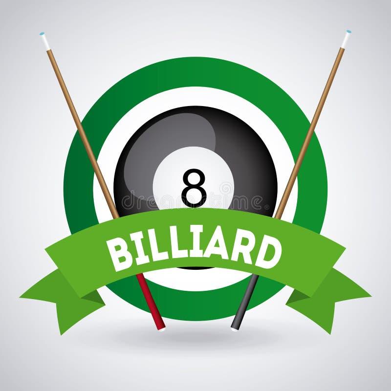 Download Σχέδιο παιχνιδιού μπιλιάρδου Διανυσματική απεικόνιση - εικονογραφία από κορδέλλα, αίθουσα: 62704953