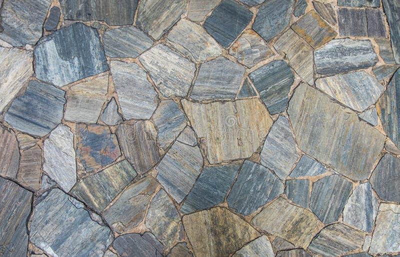 Σχέδιο πετρών πλακών στοκ φωτογραφία