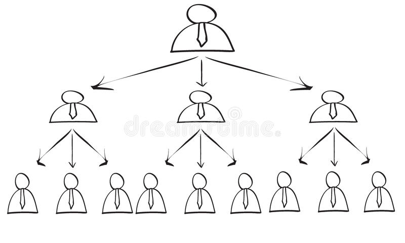 Σχέδιο πυραμίδων απεικόνιση αποθεμάτων