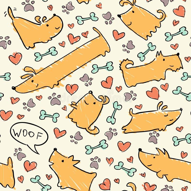 Σχέδιο σκυλιών στοκ φωτογραφίες