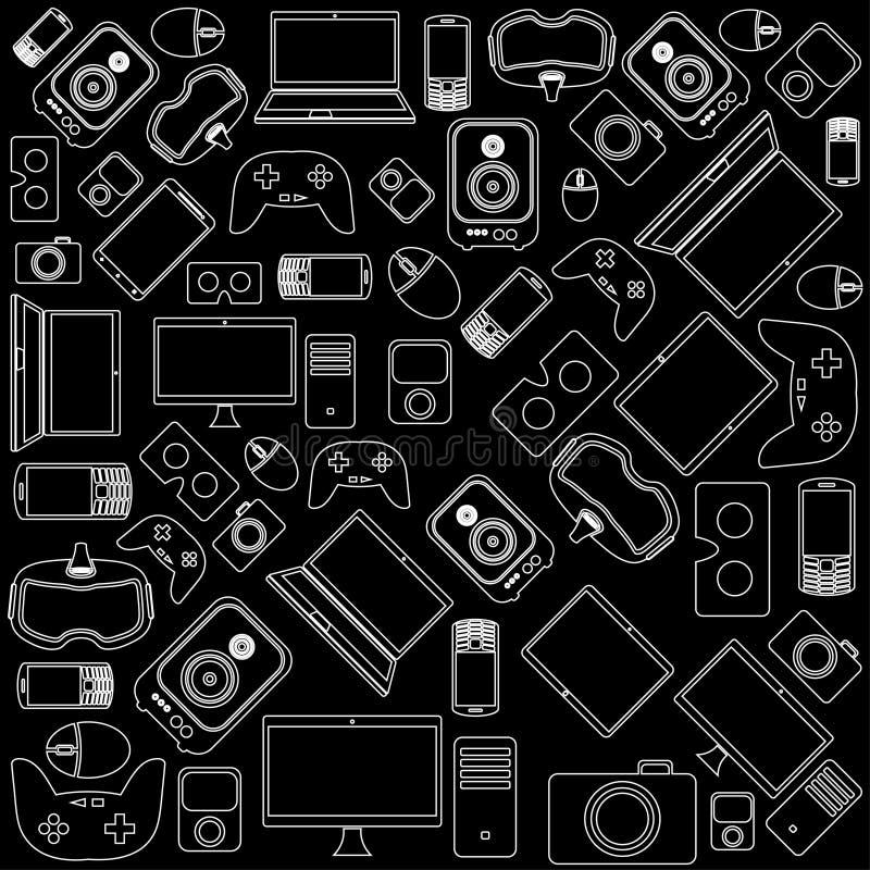 Σχέδιο συσκευών και συσκευών στοκ φωτογραφία με δικαίωμα ελεύθερης χρήσης