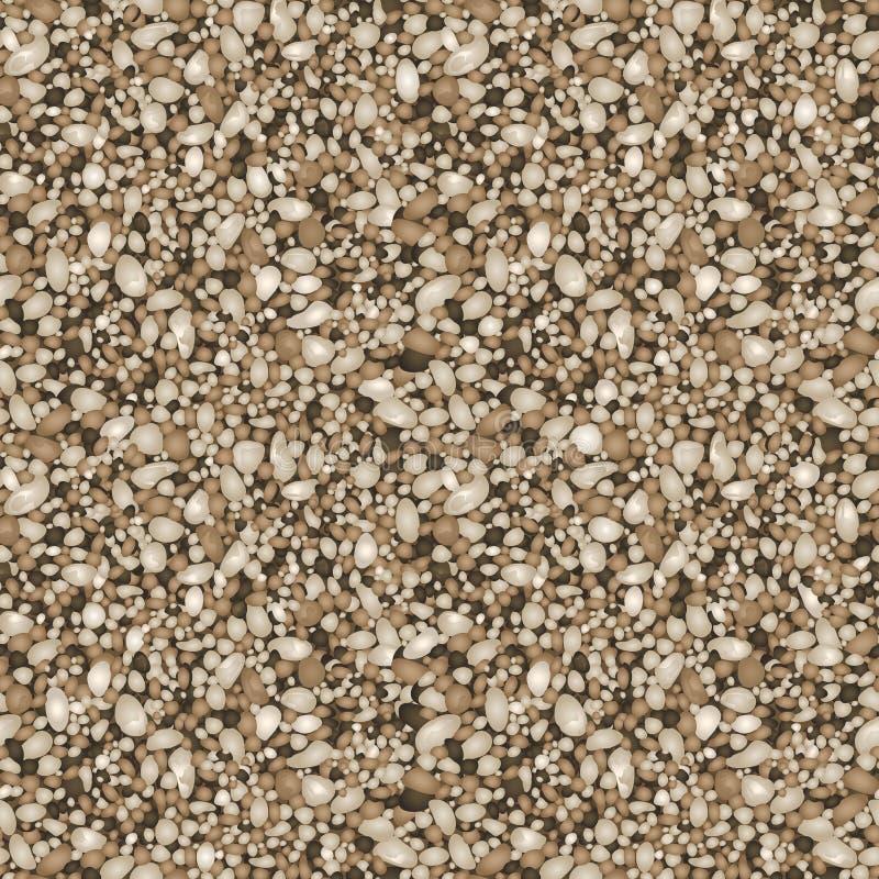 Σχέδιο σύστασης άμμου απεικόνιση αποθεμάτων