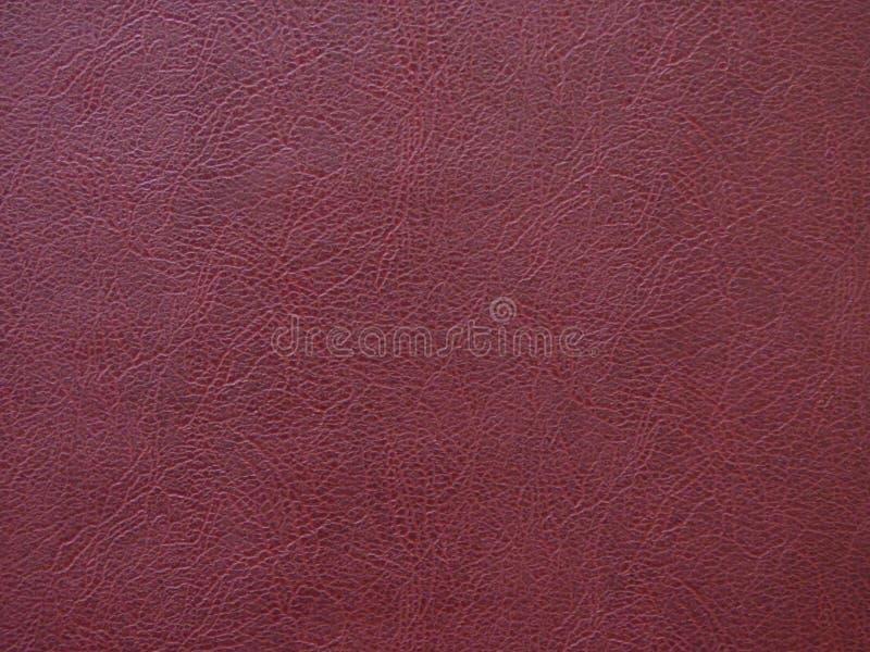 Σχέδιο σύστασης υποβάθρου στο Burgundy δέρματος χρώμα στοκ φωτογραφία με δικαίωμα ελεύθερης χρήσης