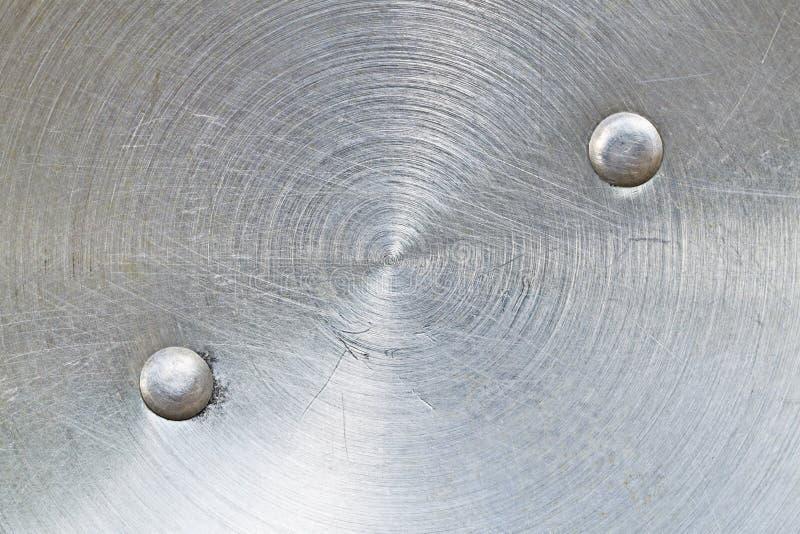 Σχέδιο της γρατσουνιάς στο χάλυβα για το σχέδιο και το υπόβαθρο στοκ εικόνες