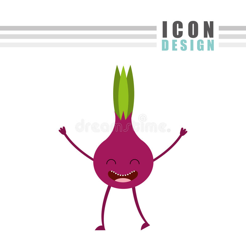 σχέδιο τροφίμων χαρακτήρα ελεύθερη απεικόνιση δικαιώματος