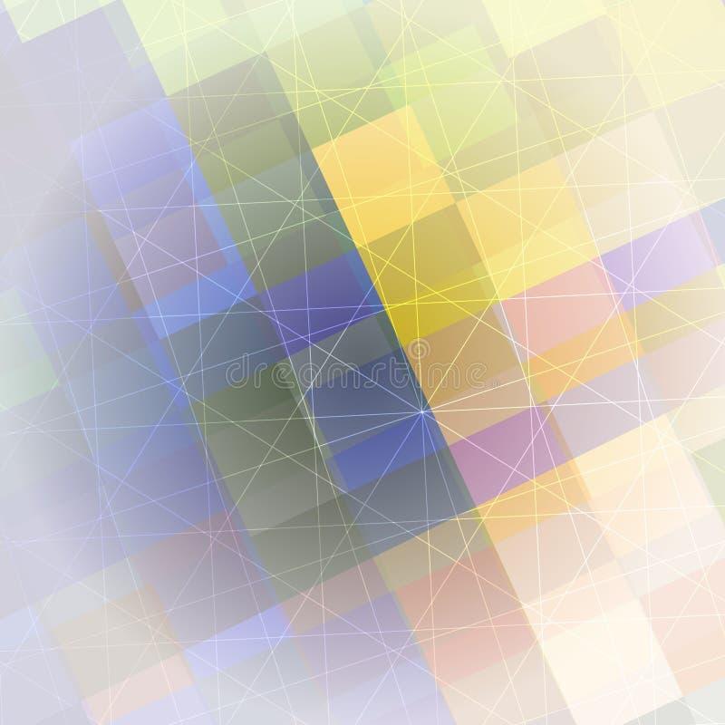 Σχέδιο των γεωμετρικών μορφών Γεωμετρική ζωηρόχρωμη ανασκόπηση στοκ φωτογραφίες