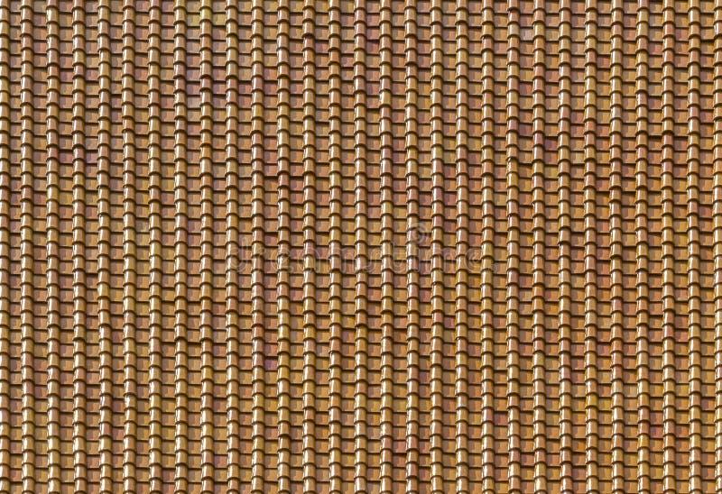 Σχέδιο των κεραμιδιών στεγών πήλινου είδους στοκ φωτογραφία με δικαίωμα ελεύθερης χρήσης