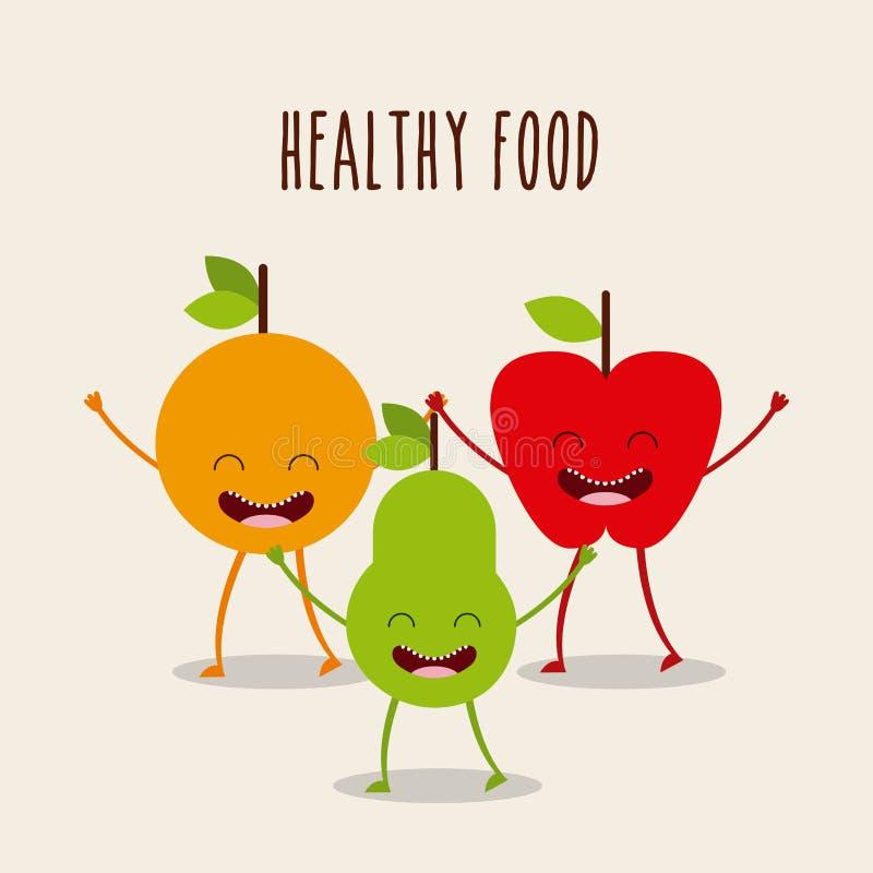 Σχέδιο χαρακτήρα τροφίμων ελεύθερη απεικόνιση δικαιώματος