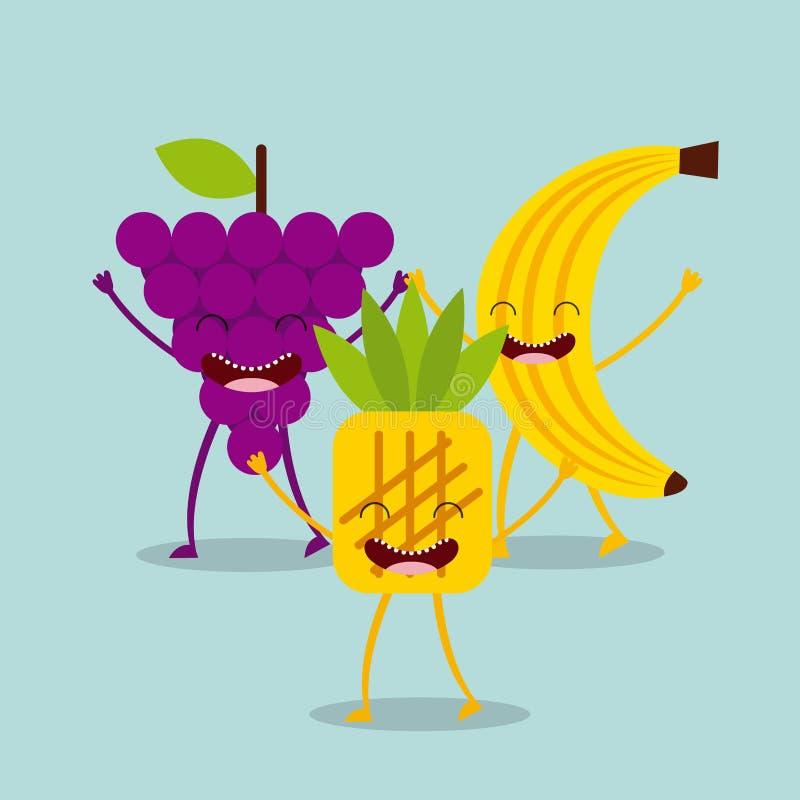 Σχέδιο χαρακτήρα τροφίμων απεικόνιση αποθεμάτων