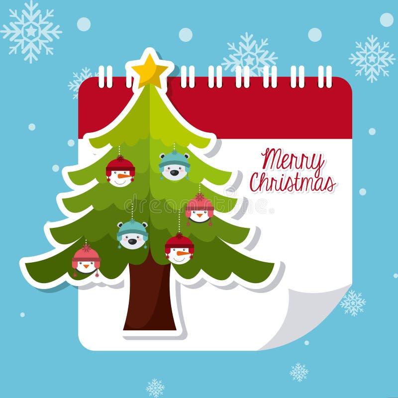 Download Σχέδιο Χαρούμενα Χριστούγεννας Διανυσματική απεικόνιση - εικονογραφία από διακοπές, ανασκόπησης: 62705090