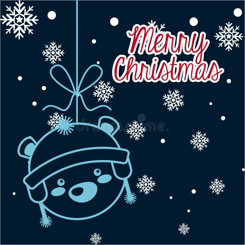 Download Σχέδιο Χαρούμενα Χριστούγεννας Διανυσματική απεικόνιση - εικονογραφία από εποχή, χαιρετισμός: 62705094