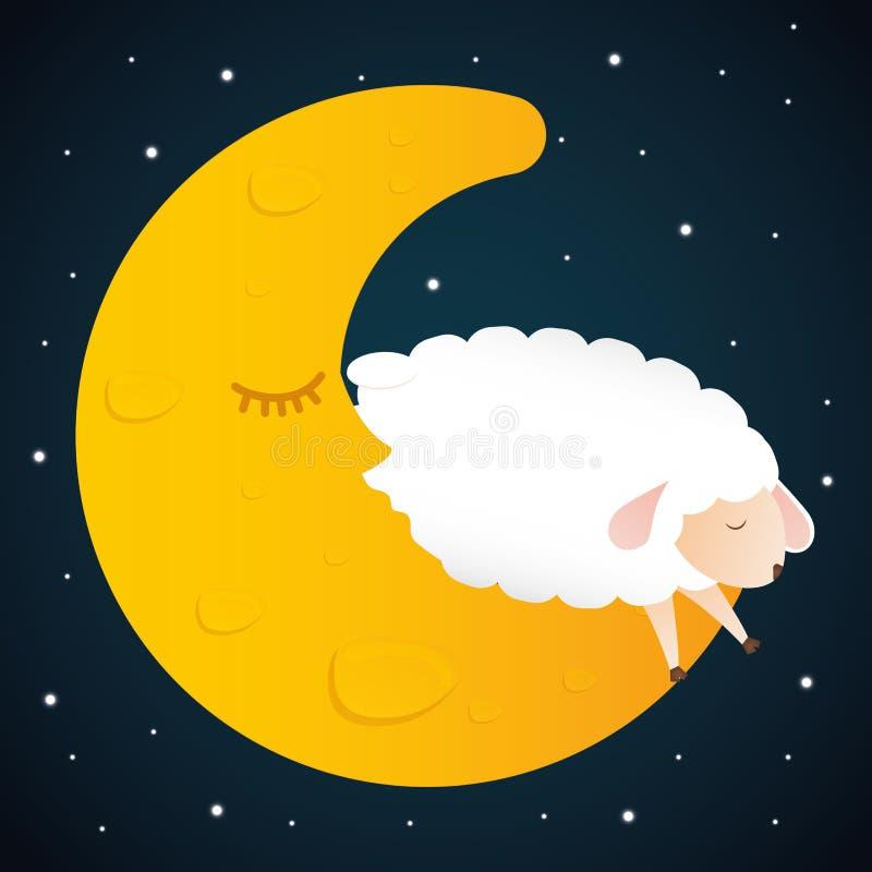 Σχέδιο ύπνου ελεύθερη απεικόνιση δικαιώματος