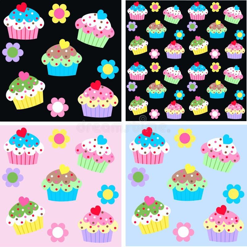 Σχέδιο Cupcake απεικόνιση αποθεμάτων