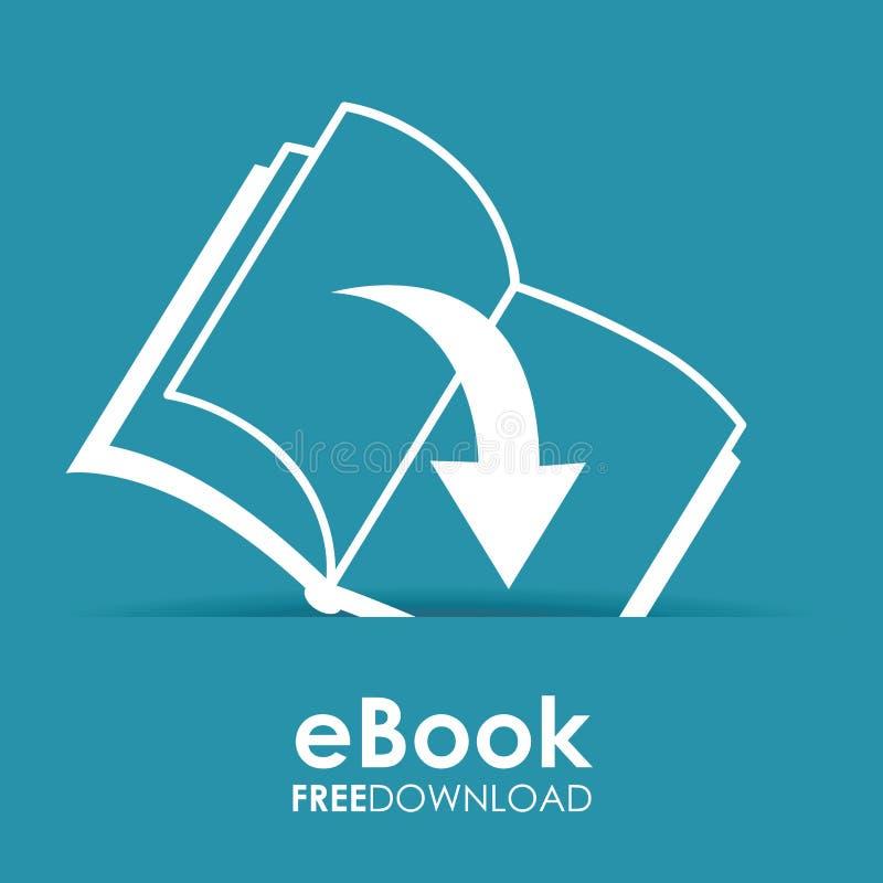 Σχέδιο EBook διανυσματική απεικόνιση