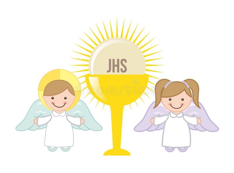 Σχέδιο Eucharist απεικόνιση αποθεμάτων