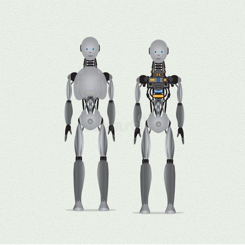 Σχέδιο Humanoid στοκ εικόνες με δικαίωμα ελεύθερης χρήσης