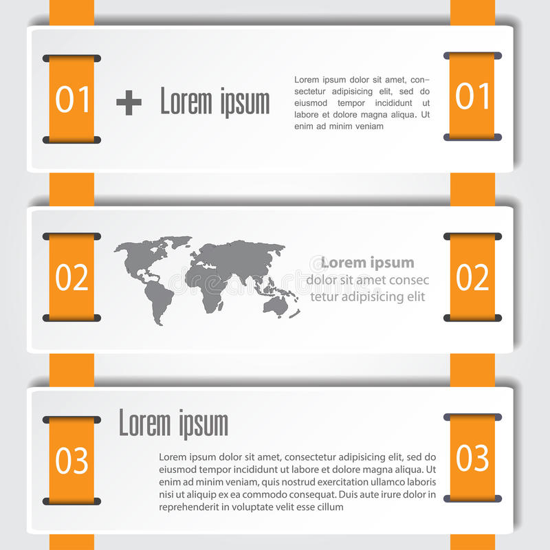 Σχέδιο Infographic στο γκρίζο υπόβαθρο EPS 10 διανυσματικό αρχείο διανυσματική απεικόνιση