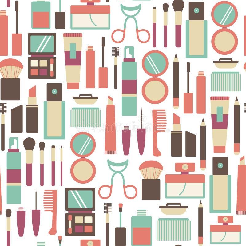 Σχέδιο Makeup διανυσματική απεικόνιση