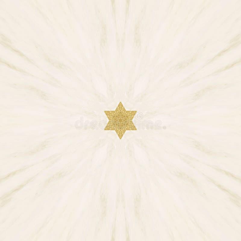 Σχήματα αφηρημένης σχεδίασης από υλικό χρυσής σκόνης στοκ φωτογραφία