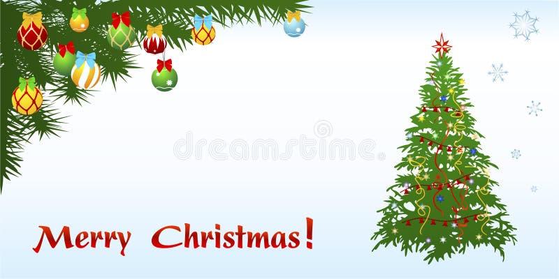 Σχήμα Dl καρτών συγχαρητηρίων Χριστουγέννων απεικόνιση αποθεμάτων