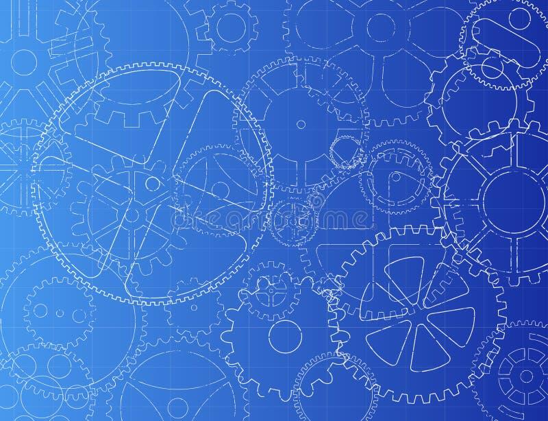 Σχεδιάγραμμα εργαλείων απεικόνιση αποθεμάτων