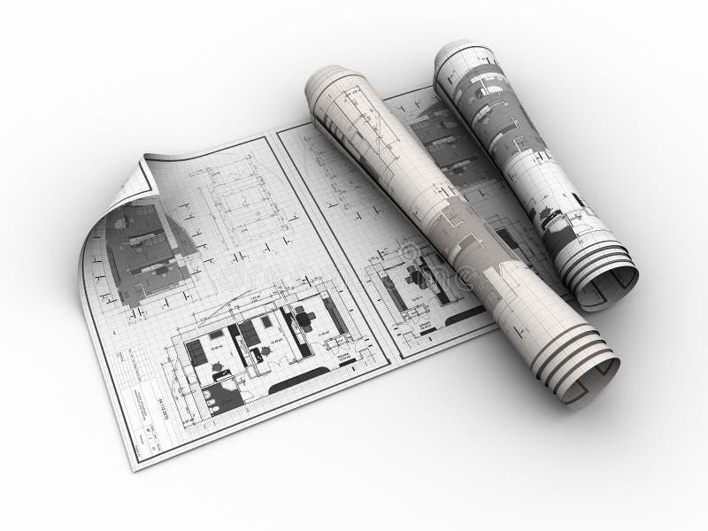 σχεδιαγράμματα που κυλ& διανυσματική απεικόνιση