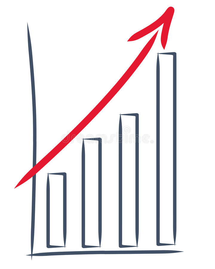σχεδιασμός των πωλήσεων &al ελεύθερη απεικόνιση δικαιώματος