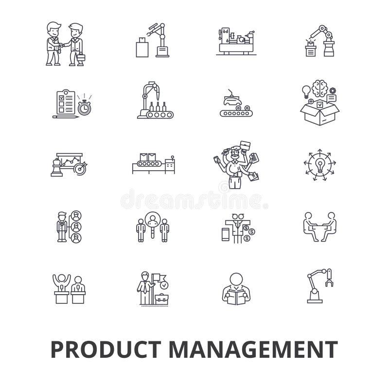 Σχετικά εικονίδια διαχείρισης του προγράμματος διανυσματική απεικόνιση