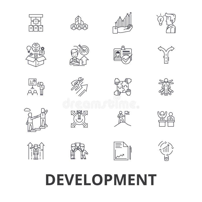 Σχετικά με την ανάπτυξη εικονίδια απεικόνιση αποθεμάτων