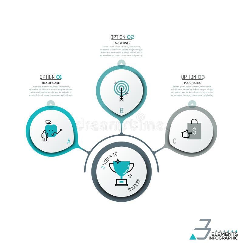 Σχεδιάγραμμα σχεδίου Infographic διανυσματική απεικόνιση