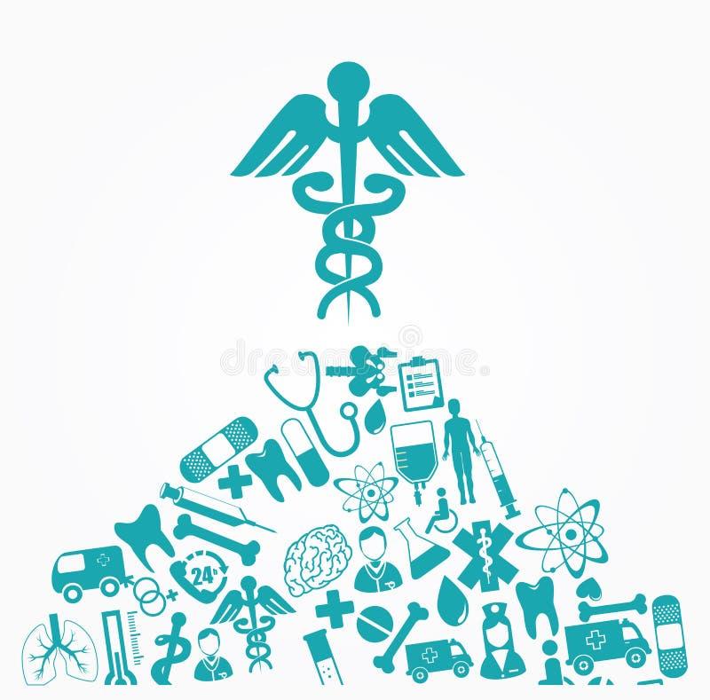 σχεδιάστε ιατρικό απεικόνιση αποθεμάτων