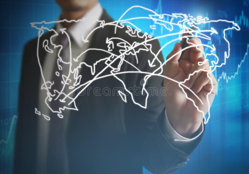 Σχεδιασμός της κοινωνικής δομής δικτύων ελεύθερη απεικόνιση δικαιώματος