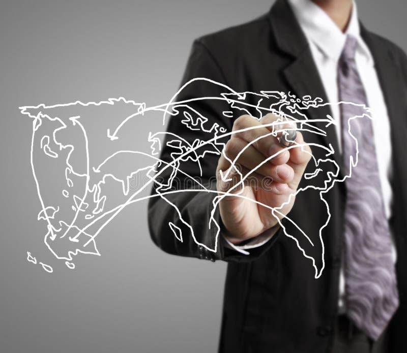 Σχεδιασμός της κοινωνικής δομής δικτύων απεικόνιση αποθεμάτων